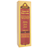 4T Medium Tobacco Brown Argan Oil Permanent Cream Hair Color