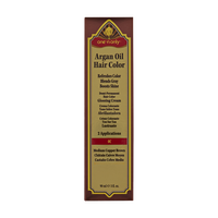 4C Medium Copper Brown Demi Permanent Hair Color Glossing Cream