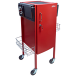 JLS-500 Metal Trolley Red