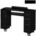 Curve Nail Table Black
