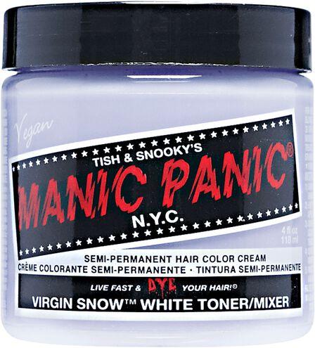 Virgin Snow Semi Permanent Cream Hair Color