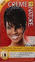 Exotic Shine Intense Black Permanent Hair Color