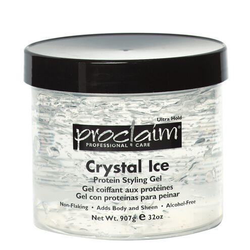 Crystal ice gel