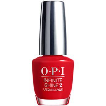 Infinite Shine Unequivocally Crimson Nail Lacquer