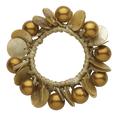 Topaz Pearl Shell Pony Bracelet