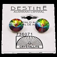 Destine Vitrail Medium Rivoli Earrings
