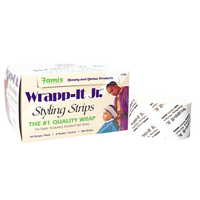 Wrapp-It Jr. White Styling Strips
