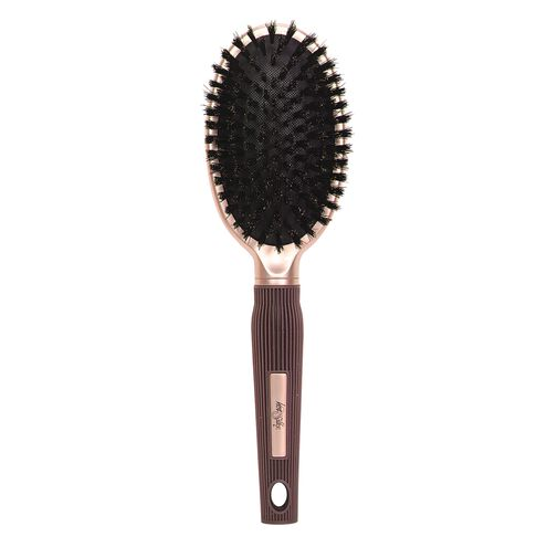 Boar Bristle Oval Cushion Brush