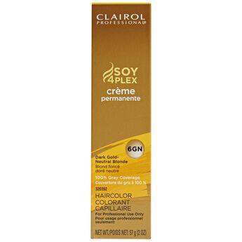 6GN Dark Gold Neutral Blonde Premium Creme Hair Color
