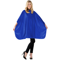 Solid Blue Shampoo Cape