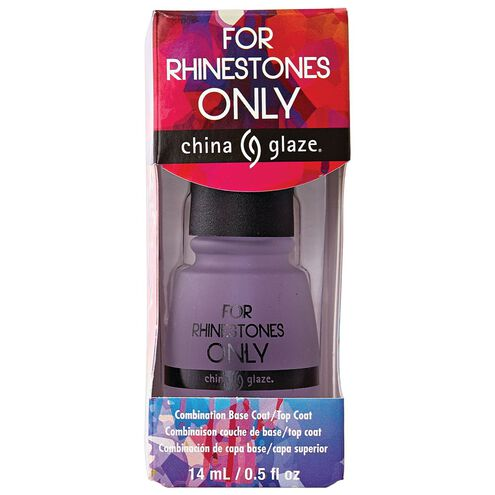 For Rhinestones Only Top/Basecoat