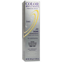 Intensive Shine 9NA Very Light Ash Blonde Demi Permanent Creme Hair Color