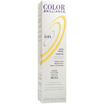 8N Light Blonde Permanent Creme Hair Color