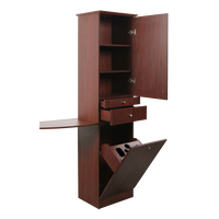 Tower Styling Station Mahogany