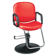Pibbs Chameleon Red Styling Chair
