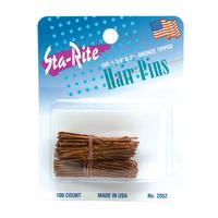 Bronze Assorted Hair Pins