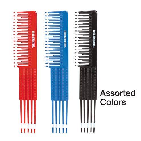 Flipside Comb with Plastic Teeth