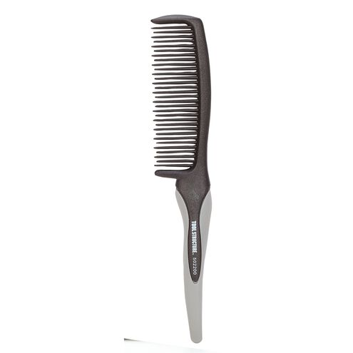 Detangler Comb With Rubber Handle