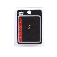 Gold Plated Heart Nose Screw