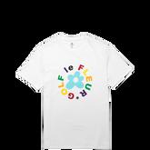 Camiseta Converse GOLF le FLEUR* Crew Blanco