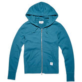 Essentials Full Zip Hoodie für Damen Teal