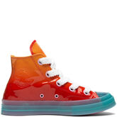 Converse x JW Anderson Patent Leather Chuck 70 High Top Kumquat/Cherry Red