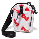 Converse x Hello Kitty Comms Pouch Egret/Fiery Red/Black