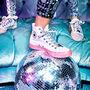 Converse x Miley Cyrus Chuck Taylor All Star White/Pink Dogwood/Black