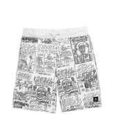 Converse x Suicidal Tendencies Sweatshorts White Multi