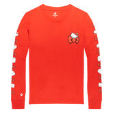 Converse x Hello Kitty Long Sleeve Tee Fiery Red