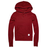 Women's Essentials Pullover Hoodie Red Block