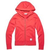 Women's Essentials Full Zip Hoodie Ultra Red