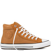 Chuck Taylor All Star Boot PC Leather + Suede Raw Sugar/White