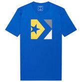 Star Chevron Tri Color T-Shirt für Herren Hyper Royal