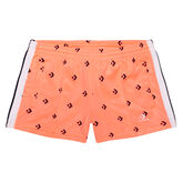 All Over Print Star Chevron Track Short Crimson Pulse Multi