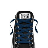 "45"" Low-Top Laces Navy"