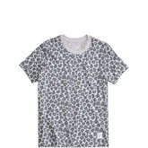 Women's Converse Essentials Leopard Tee Light  Light Grey Heather Multi