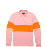 Converse x GOLF le FLEUR* Long Sleeve Polo Candy Pink