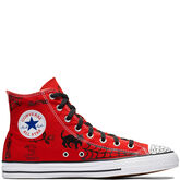 Converse x Sean Pablo CTAS Pro High Top Enamel Red/Black/White