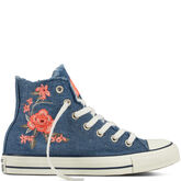 Chuck Taylor All Star Frayed Denim Ensign Blue/Mystic Blue/Navy