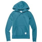Essentials Pullover Hoodie für Damen Teal