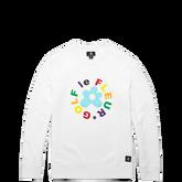 Converse GOLF le FLEUR* Crew Sweatshirt White