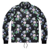 Palm Print Coaches Jacket Converse Black