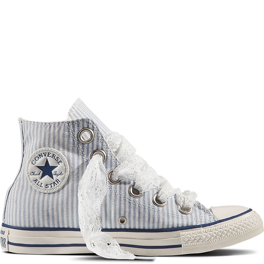 CTAS HI DENIM FRAYED WASHED - CHAUSSURES - Sneakers & Tennis montantesConverse Gtc0g