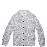 Women's Coaches Jacket White Multi