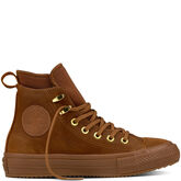 Chuck Taylor All Star Waterproof Nubuck Boot Brown/Brown/Brass