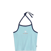 Converse x MadeMe Halter Top Cool Blue