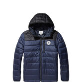 Core Poly Fill Jacket Dark Obsidian/Black
