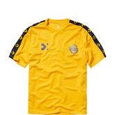 T-shirt met kleurblokken voor heren University Gold