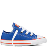 Chuck Taylor All Star Classic Colours voor peuters/kinderen Hyper Royal/Bright Poppy/White